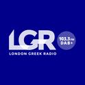 London Greek Radio 103.3 FM-Logo