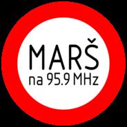 Radio Marš 95.9-Logo