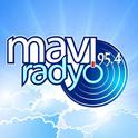 Mavi Radyo 95.4-Logo
