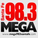 Mega 98.3 Santa Fe-Logo