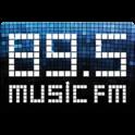 89.5 Music FM-Logo