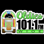 Oldies 101.1 WIOE-Logo