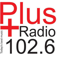 Plus Radio 102.6-Logo