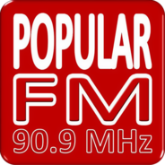POPULARFM 90.9-Logo