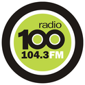 Radio 100 104.3-Logo