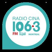Radio CINA 106.3-Logo