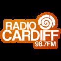 Radio Cardiff 98.7 FM-Logo