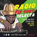 Radio Fly Foot Selecta  -Logo