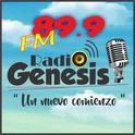 Radio Génesis 89.9-Logo