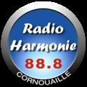 Radio Harmonie Cornouaille-Logo