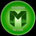 Radio Máxima 96.7-Logo