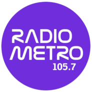 105.7 Radio Metro-Logo