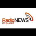 Radio News 104.3-Logo