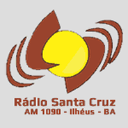 Rádio Santa Cruz 1090 AM-Logo