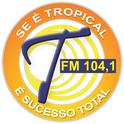Rádio Tropical 104.1 -Logo