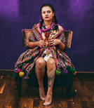Der Rapperin Rebeca Lane entgehen keine sozialen Probleme in ihrem Land Guatemala