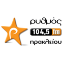 Rythmos 104.5-Logo