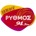 Rythmos FM 94.3-Logo