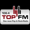 106.4 TOP FM-Logo