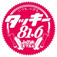 Tackey 81.6 Minoh FM-Logo