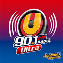 Ultra 90.1 FM-Logo