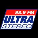 Ultra Stereo 98.9-Logo
