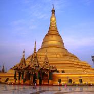 Myanmars neue Hauptstadt Nay Pyi Taw weist mehr prunkvolle Gebäude auf als Menschen, so scheint es