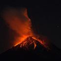 Der Volcan de Fuégo in Guatemala begrub ein ganzes Dorf unter seiner Lava