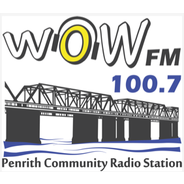 WOW FM 100.7-Logo