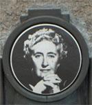 Portrait von Agatha Christie