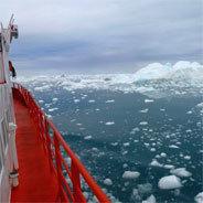 Bei einer richtigen Weltreise muss man bis zum Nordpol