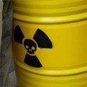 Tonne mit Atommüll