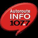 Autoroute INFO 107.7-Logo