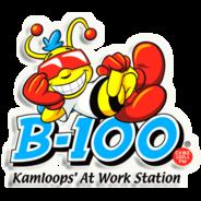 B-100 CKBZ-FM-Logo