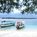 Balis Strand dient heute nicht mehr nur der absoluten Entspannung: Manche von ihnen könnten gerade in einem Meeting sein.