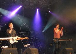 Die britische Art-Rock Band Everything Everything