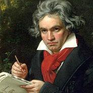 Portrait von Beethoven