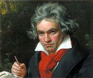 Der grimmige dreinschauende Beethoven ist quasi eine Kultfigur der klassischen Musik