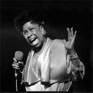 Betty Carter beim Auftritt