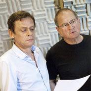Von links: Sylvester Groth als Franz und Burghart Klaußner als Paul