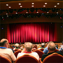 Der Auftritt des Kabarettisten FLorian Scheuba beim Salzburger Stier 2020