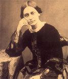Die Pianistin und Komponistin Clara Schumann.