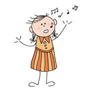Im Traumfarbenland traut sich Lina, laut zu singen