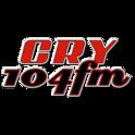 Cry 104 FM-Logo