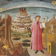 Duch die Welt des italienischen Dichter und Philosophen Dante Alighieri
