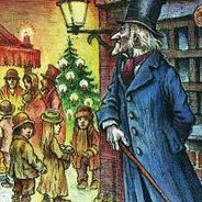 Alt, verbittert und allein verbringt Ebenezer Scrooge sein Weihnachtsfest - doch dann bekommt er unangekündigten Besuch...