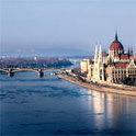 Musikklänge entlang der Donau.