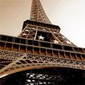 Perspektivisch der Eiffelturm