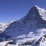 Bergmassiv in den Alpen