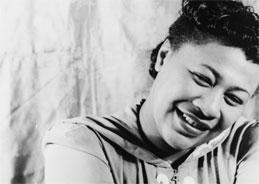 Ella Fitzgerald ist eine Meisterin des Jazzgesangs